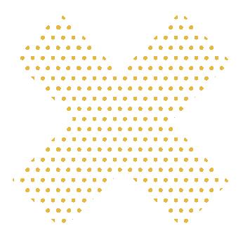 croix jaune